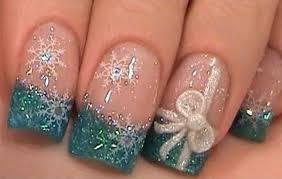 some super cool winter nail art design ideas