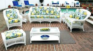 ideas white wicker resin outdoor furniture or white aluminum framed
