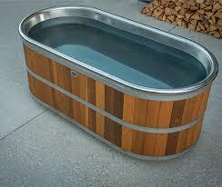 Wood Bathtubs Bathtub New Zealand Outdoor Wooden Bathtubs Stoked Stainless