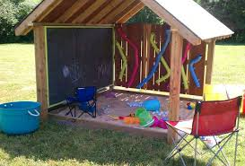 Playhouses For Backyard by Genius Outdoor Summer Ideas For Kids Crafty Morning