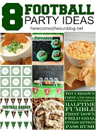 football party ideas 8 football party ideas here comes the sun