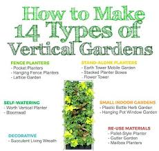 self watering vertical planter how to make 14 types of gardens