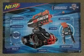 nerf remote control tank nerf n strike elite terrascout remote control drone blaster brand