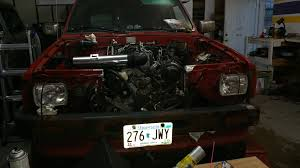 toyota truck lexus engine swap 86 pickup custom cab 2uzfe v8 swap yotatech forums