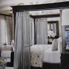 inspiring four poster canopy bed curtains to design your