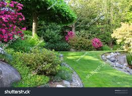 beautiful park garden spring stock photo 27332227 shutterstock