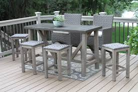 Mosaic Bistro Table Set Bar Height Table Outdoor Q9aa Cnxconsortium Org Furniture With And