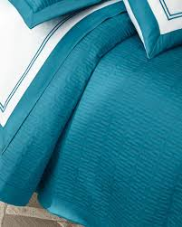Teal Coverlet Westpoint Home King Vannerie Quilted Satin Coverlet