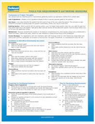 report requirements template requirements gathering management tools templates plan