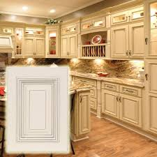 Discount Kitchen Cabinets Kansas City Heritage White Cabinets With Dark Glaze These Light Cabinets Are
