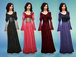 mod the sims medieval times dress
