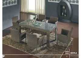 rattan wicker dining table set dongguan toyard furniture co ltd