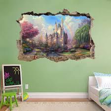 fantasy princess wall mural
