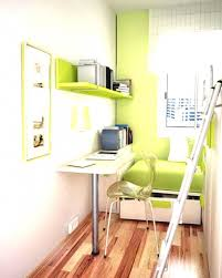 Elevated Bed Small Bedroom Home Design Cool Bedroom With Loft Bed And Storage Cabinet Also