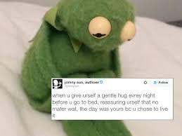 Kermit Meme Images - twitter turns sad kermit into wise and reflective kermit 27 photos