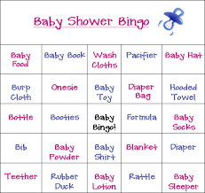modest decoration baby shower bingo printables awesome idea all