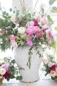 Peony Arrangement My Baby Shower U2026 Pink Peonies By Rach Parcell