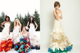different wedding dress colors wedding dresses with color