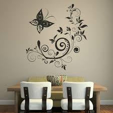 Decorative Home Dctop Modern Style Home Decorative Wall Sticker Black Waterproof