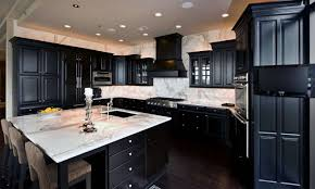 Kitchen Designs With Dark Cabinets Kitchens With Dark Cabinets And Light Countertops Outofhome