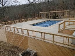intex pool decks in your backyard home decor inspirations