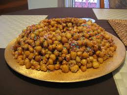 italian christmas recipe struffoli italy travel