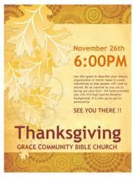 thanksgiving flyer template from sharefaith sharefaith magazine