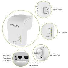 amazon com lteriver wifi range extender wifi repeater 802 11 ac
