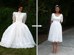 batman wedding dress diy vintage wedding dress to a cocktail dress is beautiful