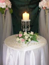 Candle Holders Decorated With Flowers 25 Best Unity Table Images On Pinterest Table Wedding Unity