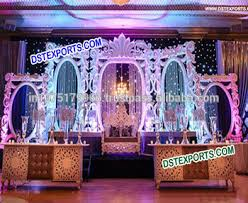 wedding backdrop modern design wedding back wall frames panels modern wedding stage