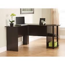 Black Home Office Desks by Ameriwood L Shaped Desk In Espresso 9354303pcom The Home Depot