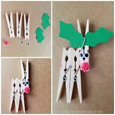 clothespin reindeer craft crafty morning