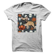 frenchie with halloween design halloween t shirts u0026 hoodies
