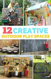 Backyard Forts Kids 12 Creative Outdoor Play Spaces For Kids So Many Fun And Unique