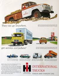 Vintage Ford Truck Ads - 1959 international trucks ad 1950s transport vehicles jb