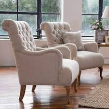 French Provincial Armchair Linen Wingback Armchair French Provincial Hamptons Style