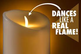 light bulbs that look like candles luminara fireless candle ultra realistic flameless candle