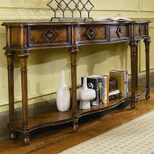 Foyer Table With Drawers Hooker Furniture Chests And Consoles 72 Inch Hall Console With