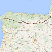 Camino De Santiago Map Walking The Camino Australian Friends Of The Camino