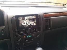 jeep grand cherokee dashboard wj in dash tablet installation grandcherokee