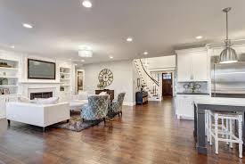 new look of large mirror dining room living combination and rooms