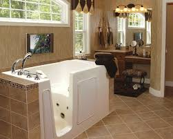 remodeled bathroom with his and hers sinks