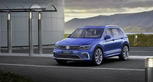 volkswagen electric concept volkswagen tiguan gte concept revealed with 218 ps and 50 km