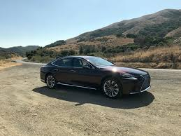 lexus luxury sedan 2018 lexus ls lexus takes boring out of the luxury sedan first
