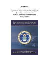 appendix a cdi report redacted united states air force
