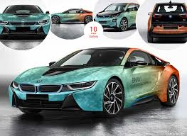 modified bmw i8 2017 bmw i8 and i3 coachella caricos com