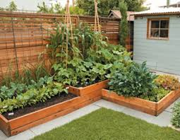 one of our most popular designs is a raised bed garden with built