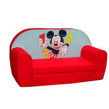 canapé convertible mickey mouse disney bébé gavroche chambre