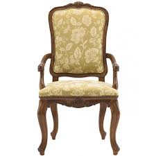 heritage at home in belle maison royal arm chair